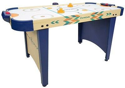 Harvil 4 Foot Air Hockey Table With Electronic Scoring