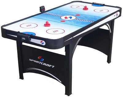 Sportcraft 66 Air Hockey Table With Tennis Top